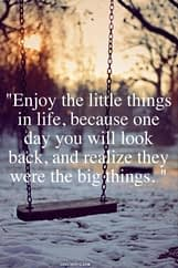 little things in life